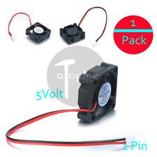 3010 DC Mini Brushless PC Fan 5V 2Pin Ultra Tiny Micro 5 Blade 30mm x30mm x10mm
