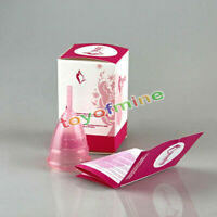 Reusable Silicone Menstrual Cup Period Soft Medical Cups Small Large Size