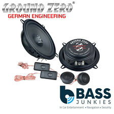 "Ground Zero GZIC 525FX - 13 cm / 5.25"" 120 Watts 2 Way Component Car Speakers"