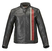 Triumph Raven 2 Black Leather Motorcycle Jacket MLHS17321 M