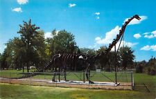 Ut Vernal Diplodocus Dinosaur Field House Of Natural History postcard A98