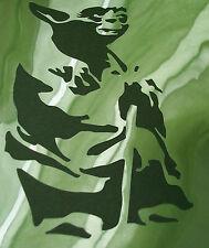 NUOVO M2 Stencil per Aerografo/Maschere di Star Wars Yoda Vernice Craft Modello Film