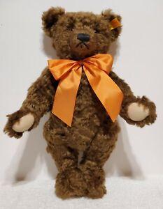 "Steiff Scrumpy the Autumn Bear, 654435, UK Excl., 1997, Mohair, 14"" tall, TA"