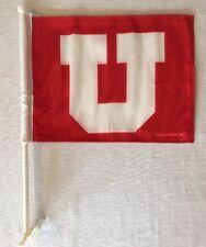 "New Utah Utes - 2 Sided Car Flag - Banner - Size: 11"" x 14"""
