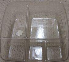 Longaberger Small Bin Basket 5 Way Divided Plastic Protector