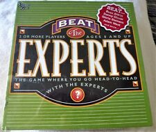 Beat the Experts Board Game University Games NEW In Box