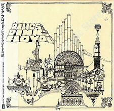 PINK FLOYD RELICS CD MINI LP OBI + BOOKLETS