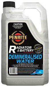 Penrite Demineralised Water 5L fits Renault 16 1.5, 1.6 TL, 1.6 TL (1152, 115...