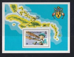 Turks & Caicos Islands 1978 sc#353 Aviation Progress-Orville Wright, MNH S/S