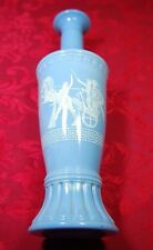 Liquor Blue Bottle, Law Forbids Sale OR Re-Use of This Bottle Federal, Greek