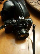 Ricoh KR -5 Super w/XR Rikenon 1:2 50mm Lens w/ case