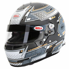 Bell RS7 Pro FIA And Snell Approved Race Racing Helmet Stamina Grey