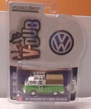 KKar Greenlight - 2017 Club V-Dub - 1971 Volkswagen Type 2 P.U.  - Green & White