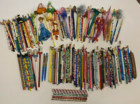 Vintage pencils pens snow globe pentech sanrio hello kitty 1980's 150+