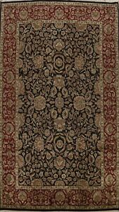 10x14 Floral Traditional Agra Oriental Area Rug Hand-knotted Wool Large Carpet