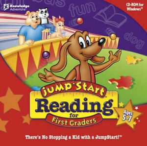 Jumpstart Reading for 1st Graders  Learn Phonics & Vocabulary  Brand New Sealed