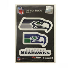 Team ProMark NFL Seattle Seahawks Die-Cut Decal Sticker 3-Pack Made in U.S.A