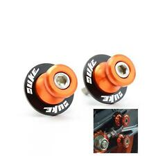 8MM Orange CNC Swingarm Spools Slider For KTM  DUKE125 200 390 530 690 950 990
