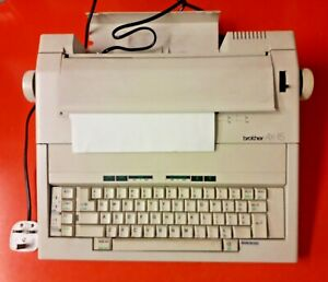 BROTHER AX-15 ELECTRONIC TYPEWRITER WORD PROCESSOR