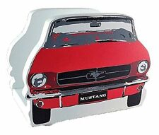 Vintage Ford Mustang Napkin Holder (Red and White) (5 3/4 in x 3 1/2 in x 4 in)