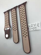 Original Apple watch Nike Sport Band 38mm 40mm Smokey Mauve/Particle Beige Strap