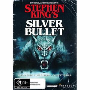 Stephen King's Silver Bullet DVD NEW (Region 4 Australia)