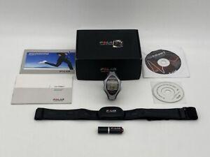 Polar RS800CX HRM Heart Rate Watch WIND Wearlink Transmitter IrDA USB Adapter