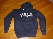YALE BULLDOGS  Hooded STITCHED  Sweatshirt NEW / TAGS  NWT ..sz.....   LARGE
