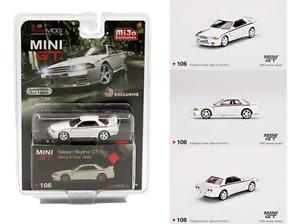 MiJo Exclusive True Scale Miniatures Mini GT 1:64 - USA Nissan Skyline GT-R R32