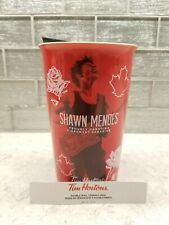 "Shawn Mendes ""Red"" Limited Edition New Ceramic Tim Hortons Travel Mug"