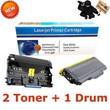 1 DR360 Drum 2 TN360 Toner Cartridge Fits Brother HL-2140 2170W MFC-7340 7840W