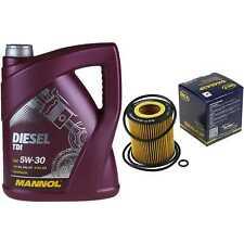 Ölwechsel Set 5L MANNOL Diesel TDI 5W-30 + SCT Ölfilter Service 10164294