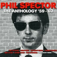 PHIL SPECTOR - THE ANTHOLOGY '59-'62 - 75 ORIGINAL RECORDINGS (NEW SEALED 3CD)