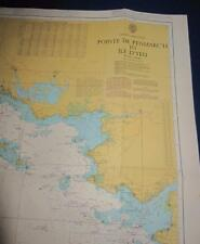 Admiralty Charts Map #2646 Pointe de Penmarc'h to Ile d'Yeu, 1998 ed.