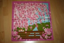 "Furoshiki Made in Japan JahreZeiten mit Mike April Hanamii ""Sakura-genießen"" süß"