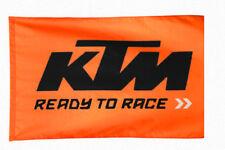 335 KTM FLAG Fahne Flagge Banner Orange Motorrad MTB Wanddekoration Blitzversand