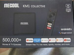 MECOOL KM1 Android 9.0 TV Box   4GB / 64 GB DDR3 Amlogic 2.4G/5G WiFi 4K BT4.2