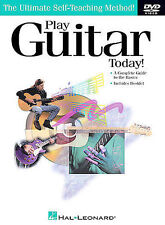 Play Guitar Today! - The Ultimate Self-Teaching Method (DVD, 2003) NEW!