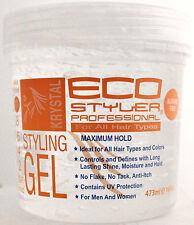 ECO STYLER KRYSTAL STYLING HAIR GEL ALCOHOL-FREE MAXIMUM HOLD  16 FL. OZ.