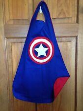 Captain America Kids Superhero Cape/Costume