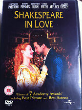 GWYNETH PALTROW Joseph Fiennes Shakespeare In Love 1999 oscar-vincitore UK DVD