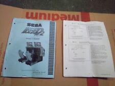 sega initial d2 arcade manual #3