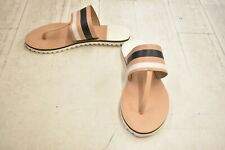 **SEBAGO Sidney Instep Sandals - Women's Size 8 M - Tan/White/Black