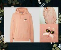 DRAGON BALL Z UNIQLO UT PINK S,M,L,XL HOODIE Sweat Shirt  Master Roshi Pullover