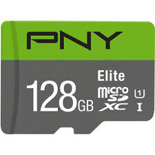PNY Elite 128GB MicroSDXC Class10 UHS-I OEM Memory Card for Galaxy Note 5 S7 S6