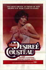 INSIDE DESIREE COUSTEAU Movie POSTER 27x40 Desiree Cousteau Serena Susan Nero