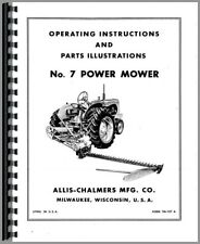 Operators Manual Allis Chalmers Tractor Attachments