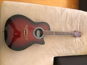 Vintage Ovation Celebrity CC057 acoustic electric guitar