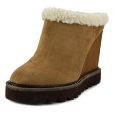 Zapatos de tacón de mujer plataformas Ante Talla 36