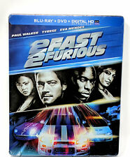 2 Fast 2 Furious Blu-Ray + DVD SteelBook NEW & SEALED